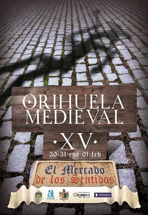 Cartel anunciador Mercado Medieval de Orihuela