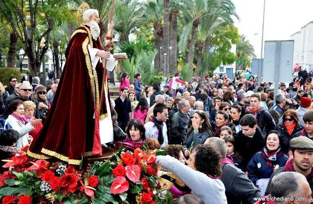 Fiesta de San Antón en Elche