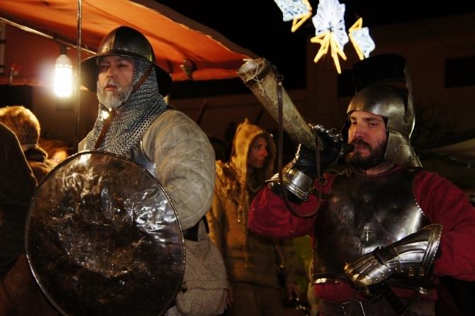 Personajes del mercado Medieval en Benissa