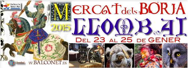 Cartel Mercado de los Borja 2015