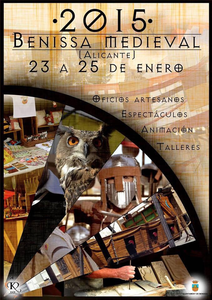 Mercado Medieval de Benissa 2015 cartel