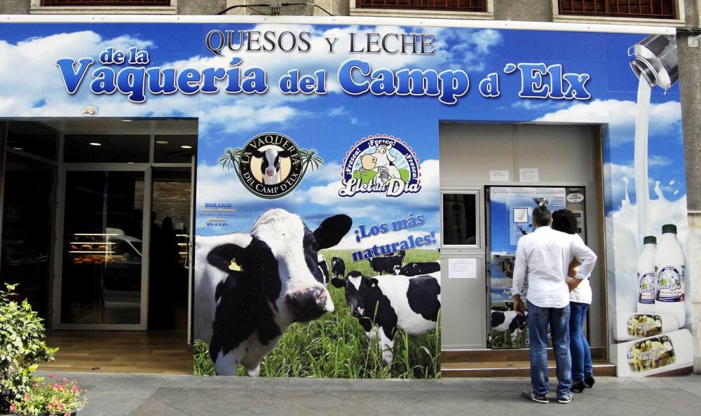 Imagen de la tienda de la Vaquería del Camp D´Elx