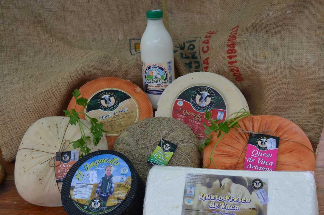 Productos de la vaqueria del camp d'Elx